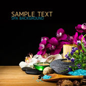 Spa setting — Stock Photo