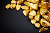 Altın nuggets — Stok fotoğraf