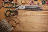 Old scissors — Stockfoto