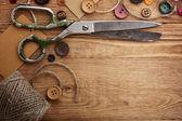 Vecchie forbici — Foto Stock