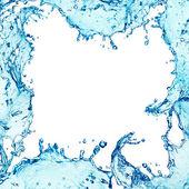 Splash,border water — Stock Photo