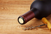 Bottle of wine — Stock Photo