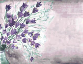 Watercolor grunge background — Stock Vector