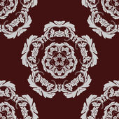 Seamless pattern vintage background. — Stock Vector
