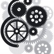 Stock Vector: Gear drive