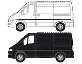 Transportation Van — Stock Vector