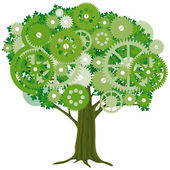 Eco-friendly production — ストックベクタ