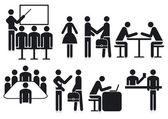 Office icon — Stock Vector