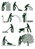 Gardening pictogram — Stockvector