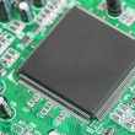 chip auf dem board computer — Stockfoto