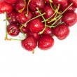 Royalty-Free Stock Photo: Sweet cherries isolated on a white background