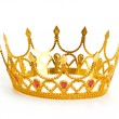 gold crown — Stock Photo