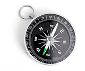 Black Compass isolated on a white background — Stock Photo