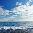 Caribbean sea and perfect sky — Stock Photo #11994341