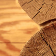 Close-up wooden cut — Stock Photo #12147635