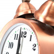 Bronze vintage alarm clock — Stock Photo #12147763