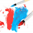 Brush and paint scratch — Stock Photo #12148119