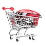 online internet winkelen — Stockfoto