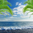 Caribbean sea and perfect sky — Stock Photo #12246742