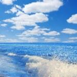 Sun and sea. — Stock Photo
