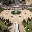 Entrance to the Bahai Gardens — Stock Photo #10936467