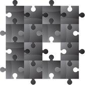 Puzzle — Stok Vektör