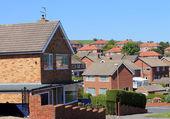 English housing estate — Stock Photo
