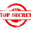 Top Secret red stamp — Photo