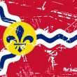 St Louis flag — Stock Photo