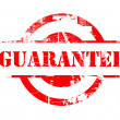 Guarantee red stamp — Foto Stock
