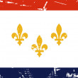 Stock Photo: New Orleans flag