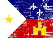 Acadiana flag — Stock Photo