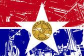 Dallas city flag — Stock Photo