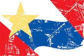 Lafayette city flag — Stock Photo