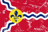 St Louis flag — Stock Photo