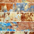 Old Wall. Collection of banners for web sites — ストック写真
