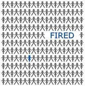 One is Fired — Stock Photo