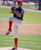 Reading Phillies' pitcher Austin Hyatt — Stock Photo