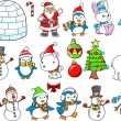 Christmas Holiday Winter Vector Set — Stock Vector #11660190