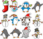 Christmas Holiday Vector Set — Stock Vector