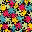 Colorful blots seamless pattern. — Vector de stock  #10840964