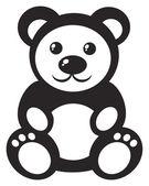 Ours en peluche — Vecteur