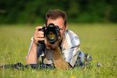 Photographer — Stock Photo