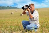 专业摄影师 — 图库照片