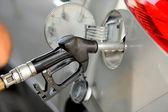 汽车用燃气泵 — 图库照片