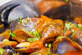 Mussels nature — Stockfoto