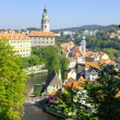 Cesky Krumlov  view - Stock Photo