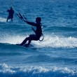 kite surfare — Stockfoto