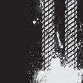 Black tire track background — Stock Vector