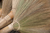 Handmade brooms — Stock Photo